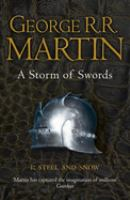 A storm of swords P. 1, Steel and snow
