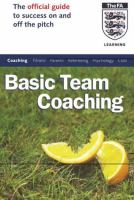 The official FA guide to basic team coaching