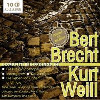 Complete recordings of Bert Brecht, Kurt Weill