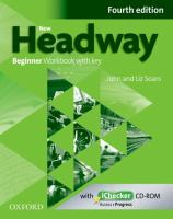 New headway Beginner, Workbook with key