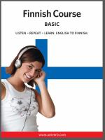 Finnish course [Elektronisk resurs] : basic