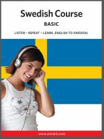 Swedish course [Elektronisk resurs] : basic