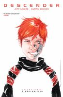 Image Comics presents Descender Vol. 3, Singularities