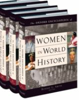 The Oxford encyclopedia of women in world history Vol. 1, Abayomi - Czech Republic