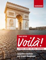 Voilà! [Kombinerat material] : a French course for adult beginners