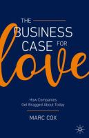 The business case for love