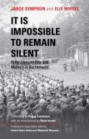 It is impossible to remain silent
