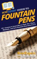 HowExpert Guide to fountain pens