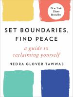 Set boundaries, find peace